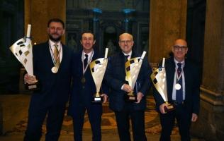 Premiazione Campioni d'Italia 2016